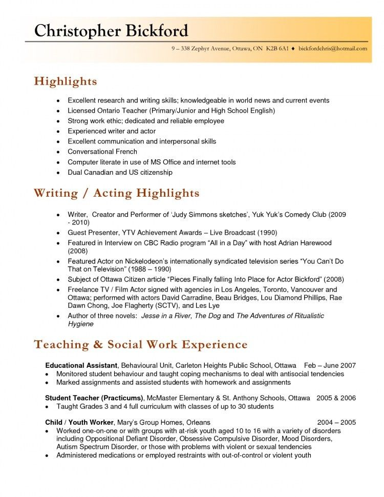 Teachers Resume Example. Teacher Resume | Free Assistant Teacher ...