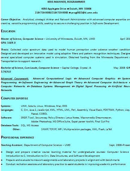 standard resume format sample template example ofbeautiful ...