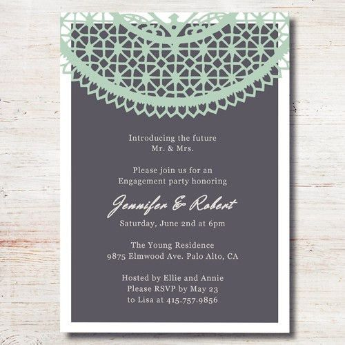 Free Engagement Party Invitations | alesi.info