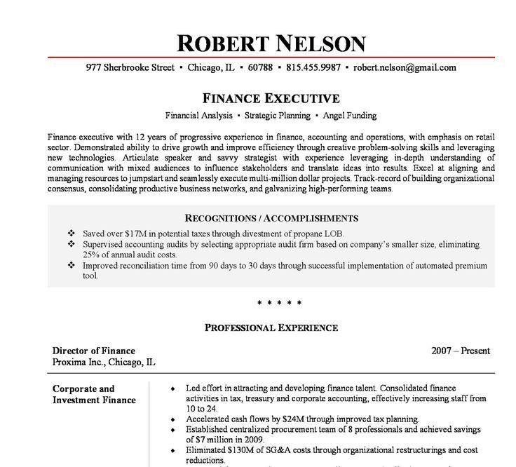 resume templates executive 10 executive resume templates free