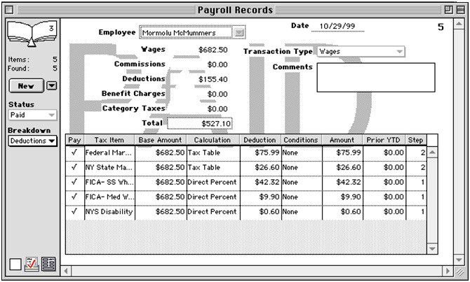 Payroll Records Definition | Human Resources(HR) Dictionary | MBA ...