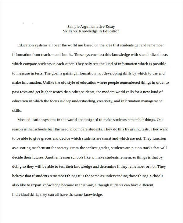 16+ Essay Examples in Doc