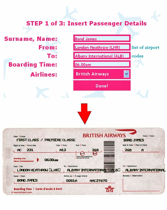 Fake airline ticket maker ticket o matic is the best fake airline ticket o matic is the best fake airline ticket generator pronofoot35fo Images