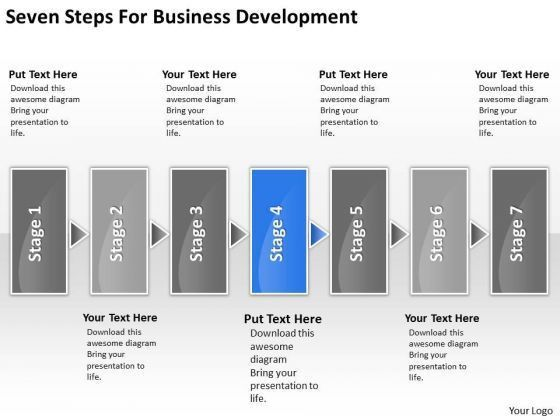 Business Plan Development PowerPoint Templates