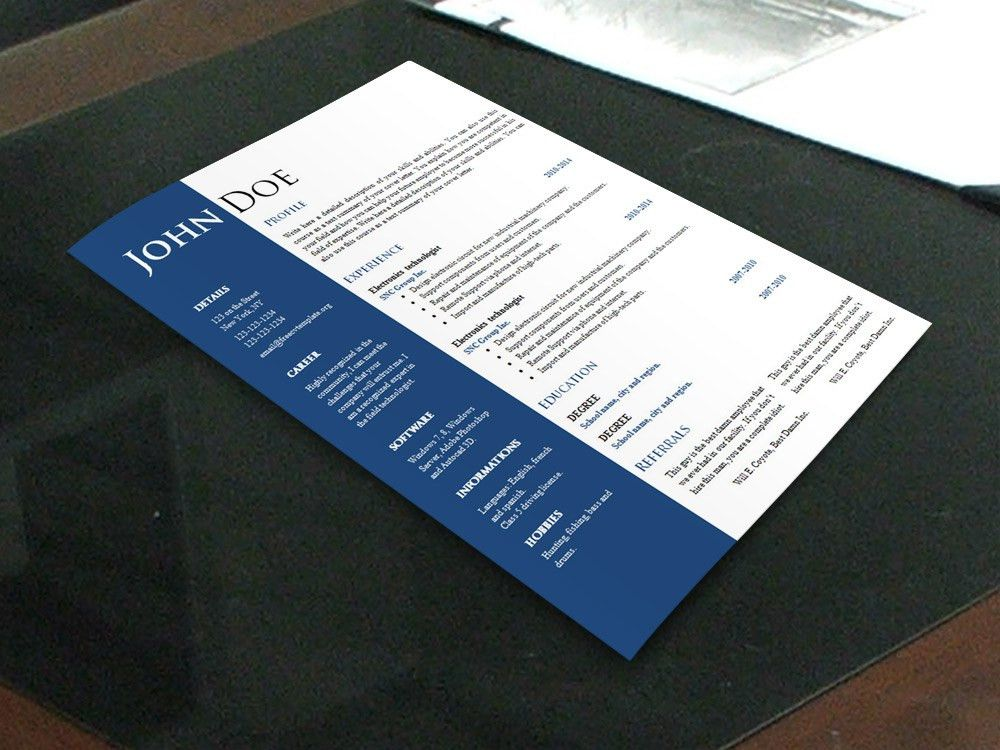 Creative Resume Templates Free Download | berathen.Com