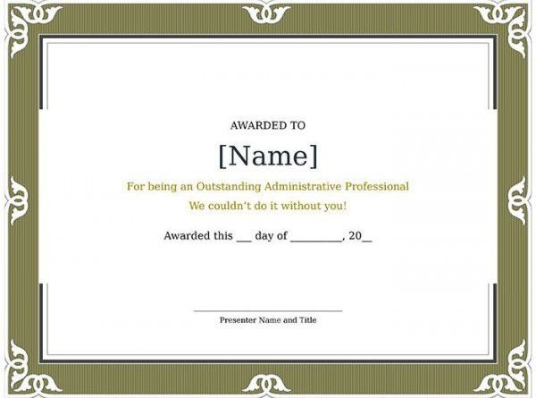 52+ Free Printable Certificate Template - Examples in PDF, Word ...