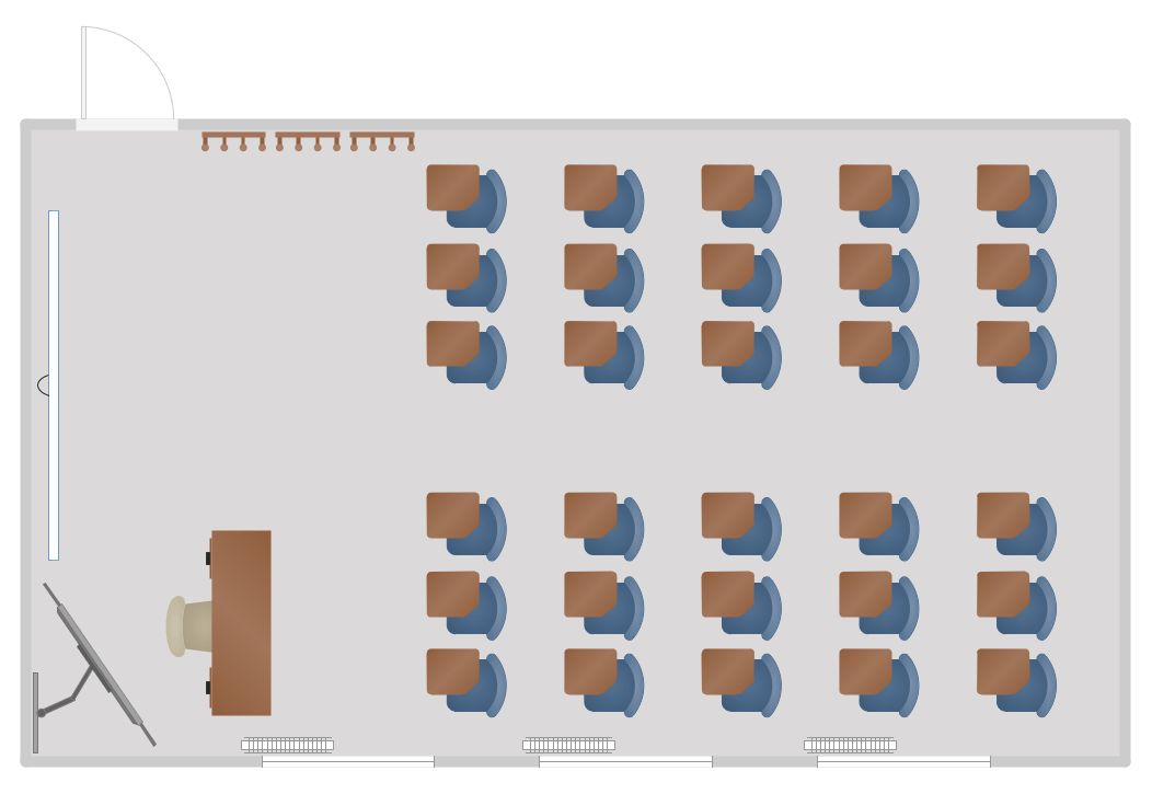 Classroom Seating Charts | Reflective Ceiling Plan | Classroom ...