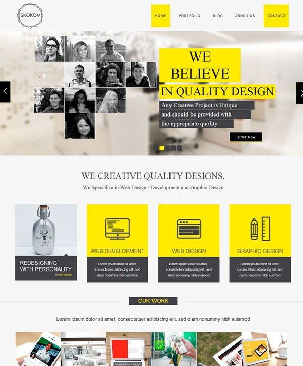 27 Best Corporate HTML5 Website Templates