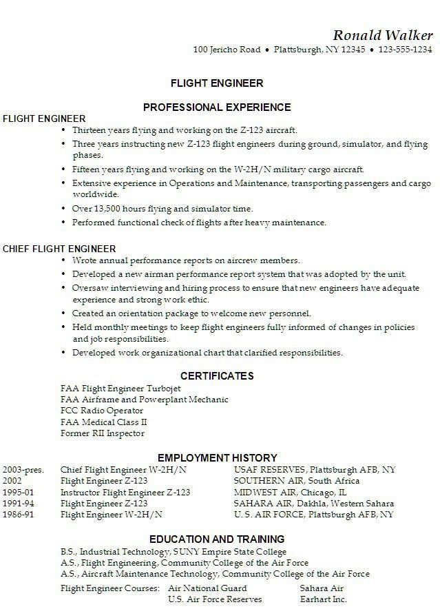 Resume Examples. What is The Best Resume Template To Use From Word ...