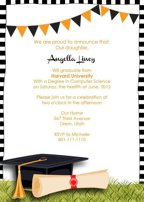 FREE Graduation Party Invitation | graduation party! | Pinterest ...
