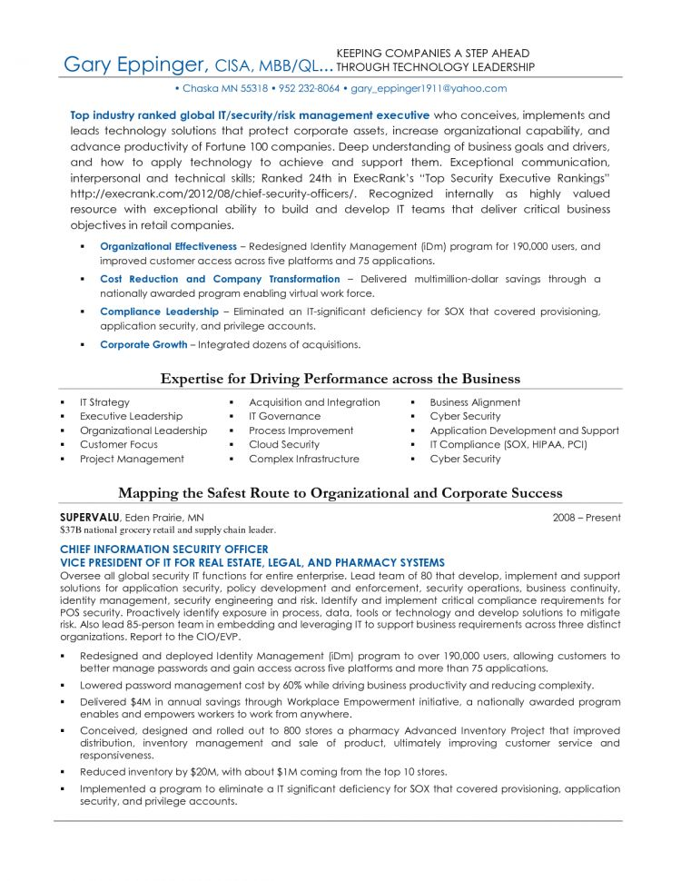 Security Resume Network Security Engineer Resume Sample Security ...