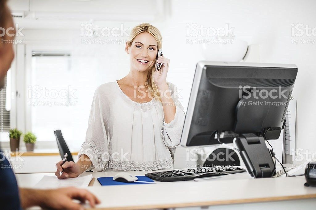 Medical Receptionist Pictures, Images and Stock Photos - iStock