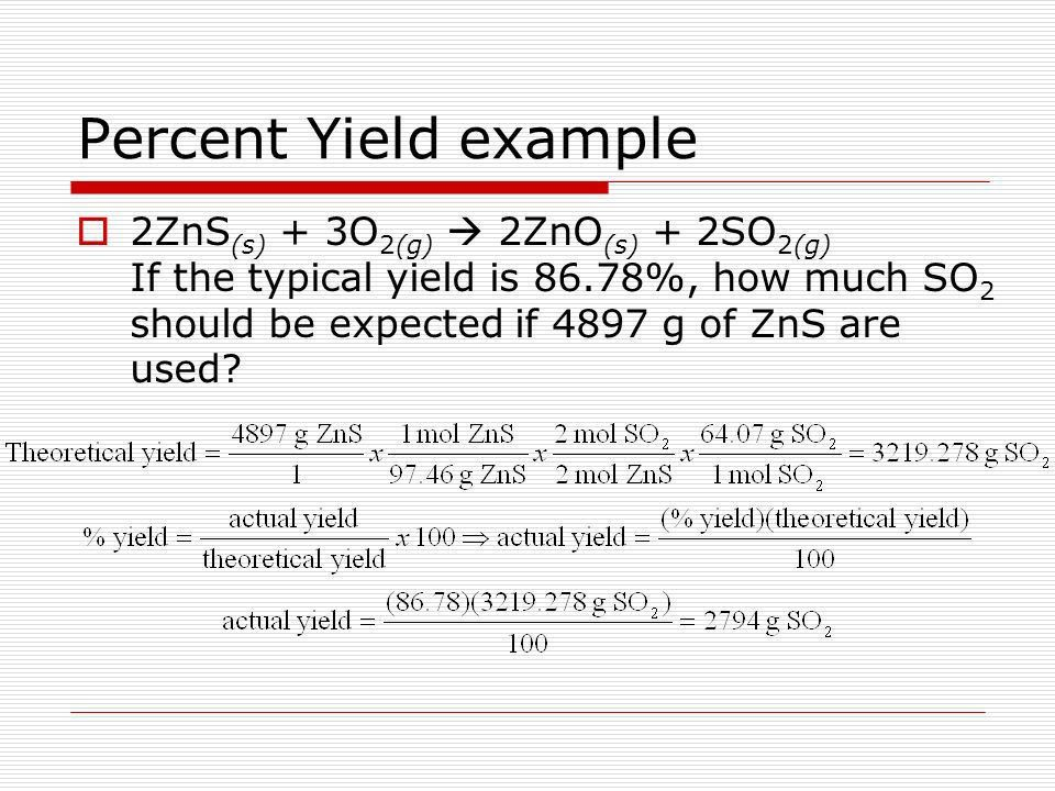 Chapter 9-Stoichiometry 9.1-Introduction to Stoichiometry 9.2 ...