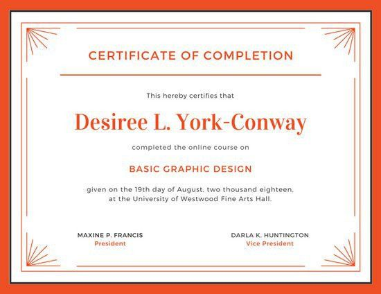 Course Completion Certificate Format | Manager.billybullock.us