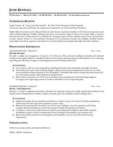 roofer resume free roofer resume example roofer resume sample