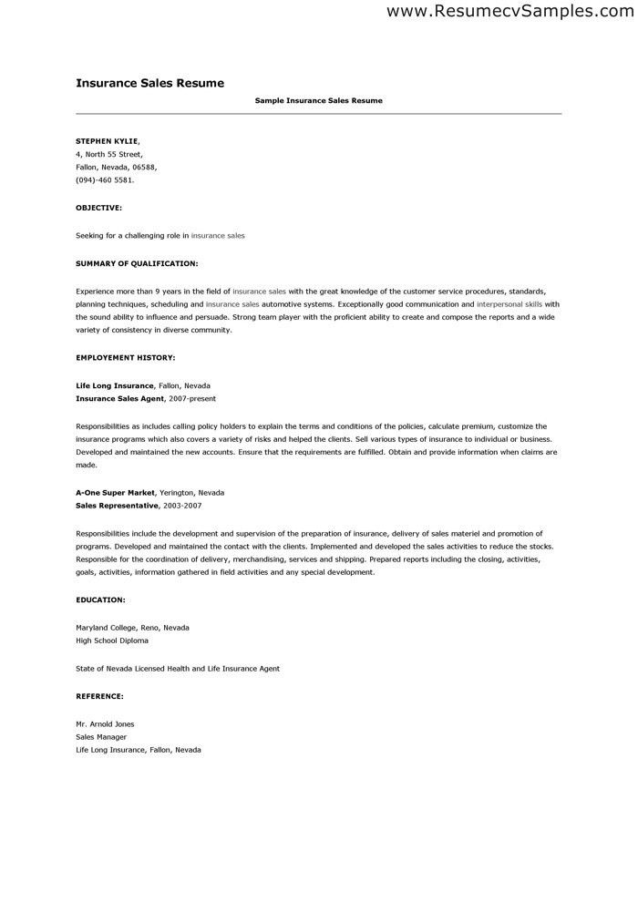 health insurance specialist resume sample recentresumes com ...