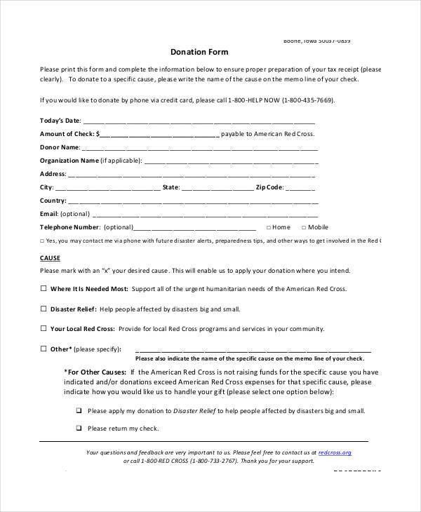 Form Templates - 9+ Free Excel, PDF Documents Download | Free ...