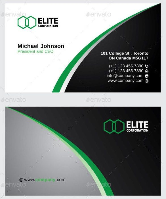 Name Card Template – 16+ Free Sample, Example Format Download ...