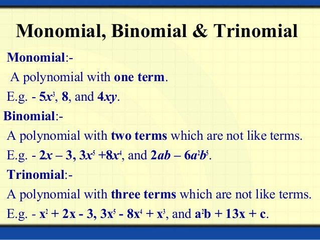 Polynomials And Linear Equation of Two Variables