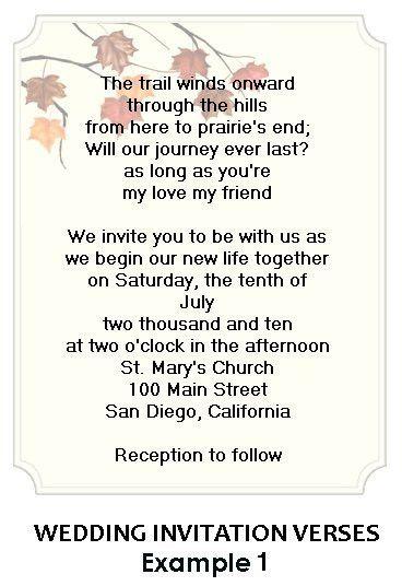 Wedding Invitation Example – gangcraft.net