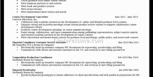 Corporate Communications Resume Samples Communications Resume ...