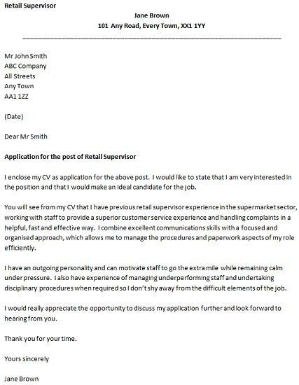 Retail Cover Letter Examples Uk 2 Retail Assistant Cover Letter ...