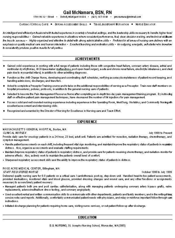 Healthcare Resume Builder | Template Design