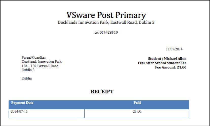 Online School Payments | VSware School MIS - Cloud based school ...