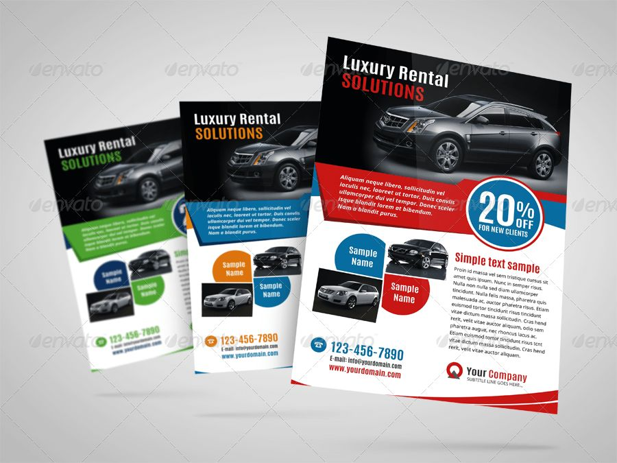 Luxury Car Sale Flyer Ad Design Template by Jbn-Comilla | GraphicRiver