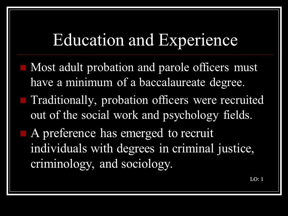 The Career Pathway of a Community Supervision Officer - ppt video ...