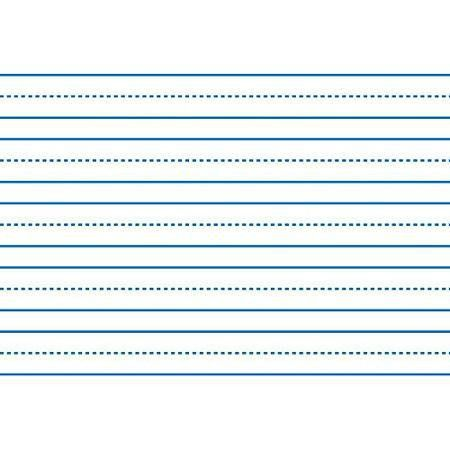 Buy School Smart 085214 Skip A Line Writing Paper For Grade 3 &amp ...