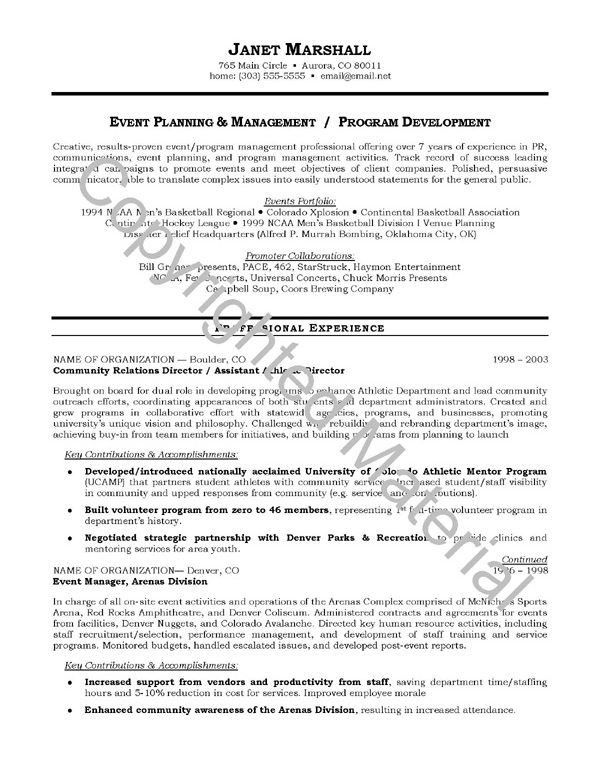 Samples Of Resume Objectives - Resume Example