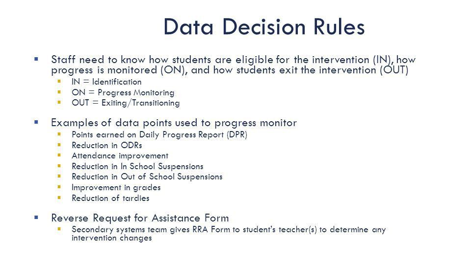 Installing Tier 2 Systems, Data and Practices - ppt download