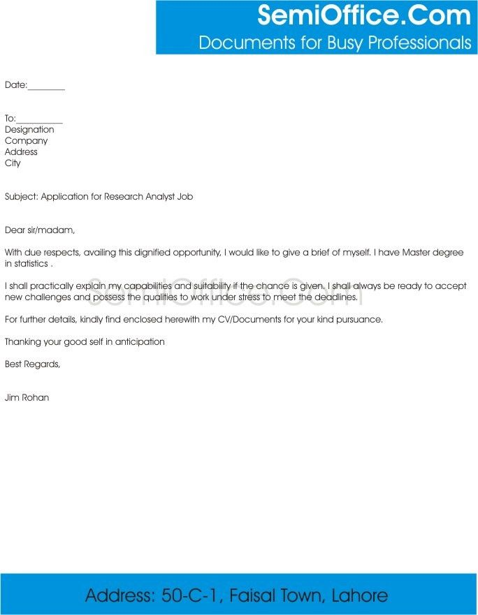 cover letter. ingenious ideas cover letter for research position 4 ...
