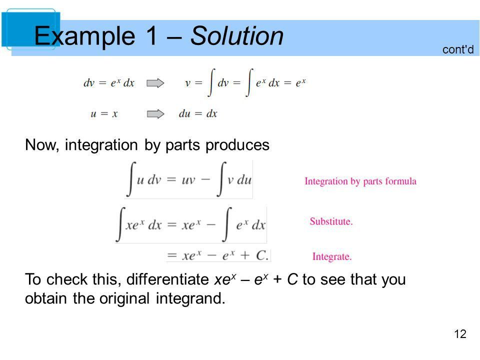 Integration Techniques, L'Hôpital's Rule, and Improper Integrals ...