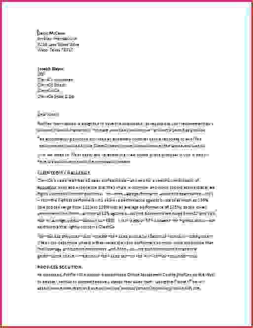 6+ business proposal letter sample | Procedure Template Sample