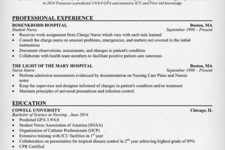 Health Care Resume For Skills - Reentrycorps