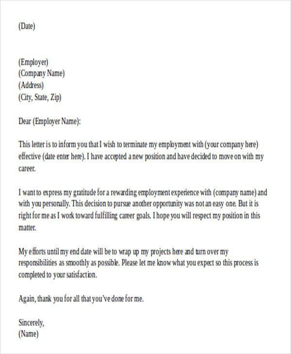 30+ Resignation Letter Templates in Doc   Free & Premium Templates