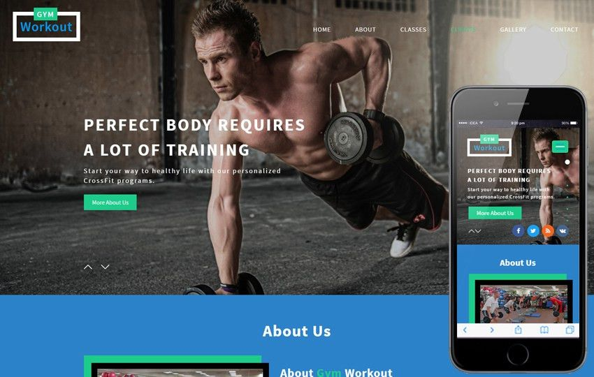 Fitness Templates - w3layouts.com