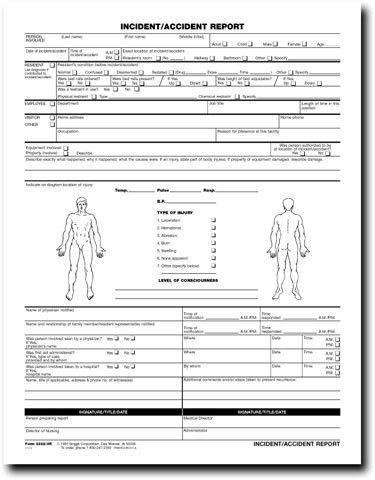 Employee Incident Report Form Template | Work Stuff | Pinterest