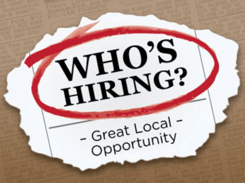 Cook, Legal Assistant, Hair Stylist Among Local Job Opportunities ...
