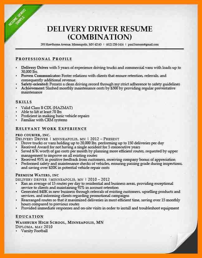 Cdl Resume | Resume CV Cover Letter