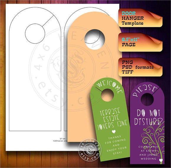 8+ Sample Banking and Financial Door Hangers - PSD, Vector EPS, PDF