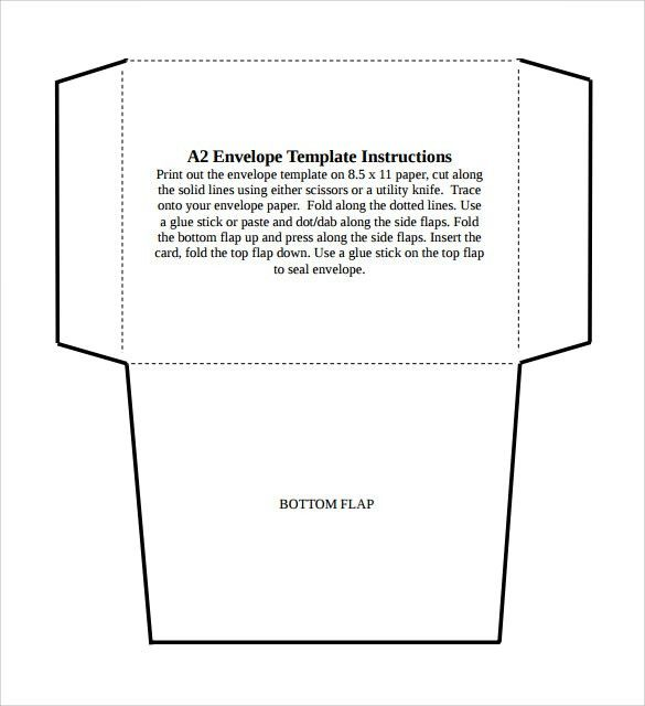 Sample A2 Envelope - 6+ Documents in Word, PDF