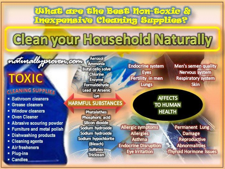 Are Cleaning Products Safe? Guide to Natural Alternatives ...