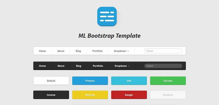 50 Free Bootstrap Templates & Themes