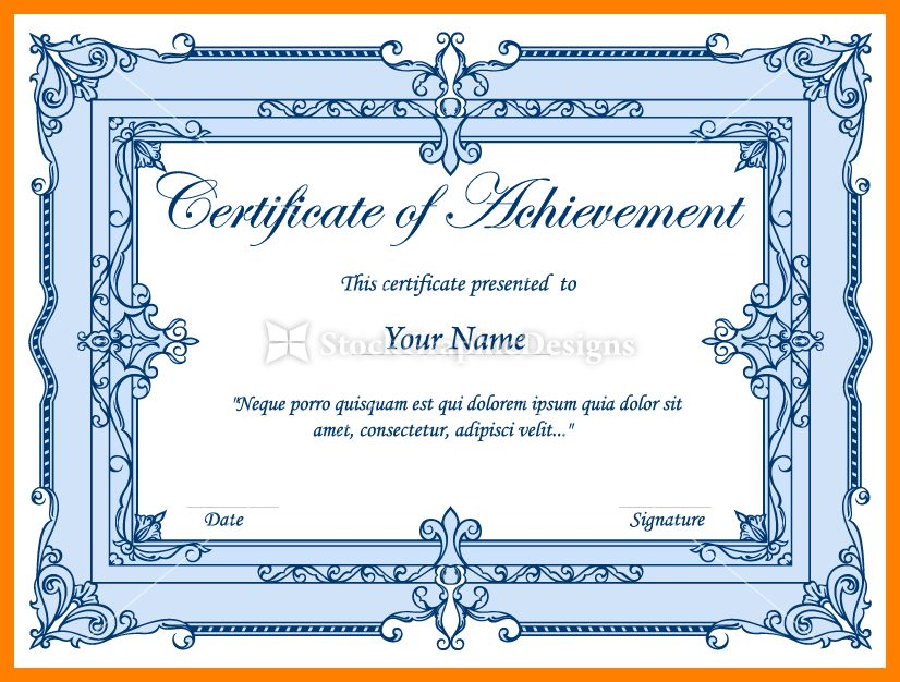 8+ certificate border design png | accept rejection