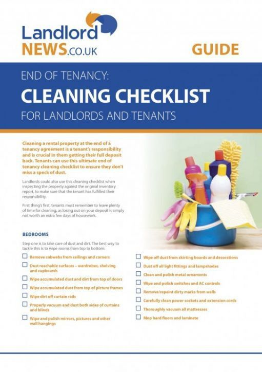 Landlords and Tenants Get the Ultimate Cleaning Check...