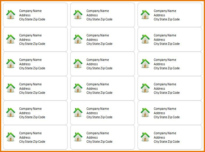 4 avery address label templates | Divorce Document