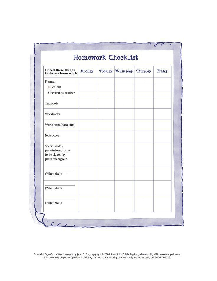 Best 25+ Homework checklist ideas on Pinterest | Teachers room ...